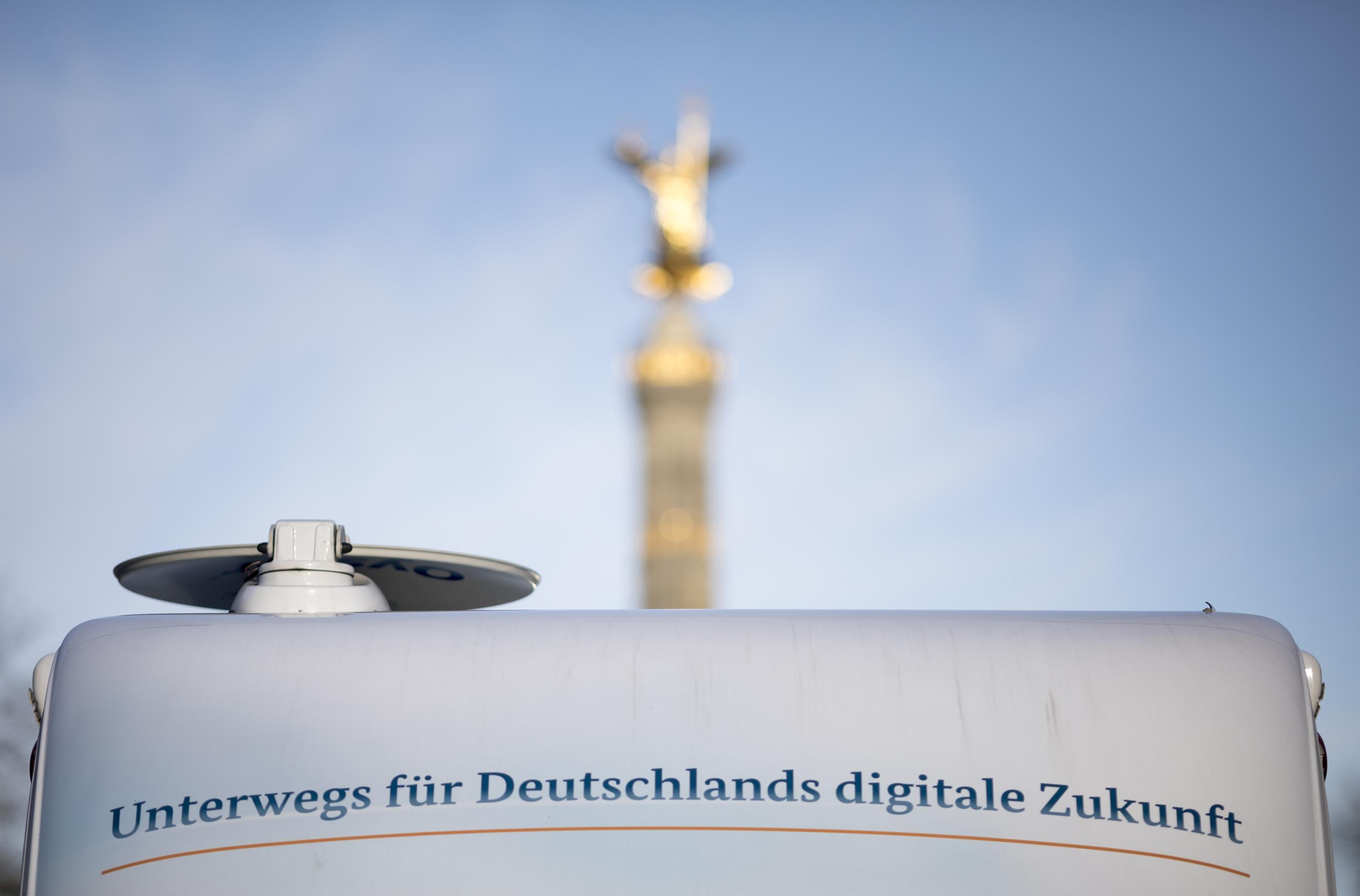 Unterwegs für Deutschlands digitale Zukunft in Berlin