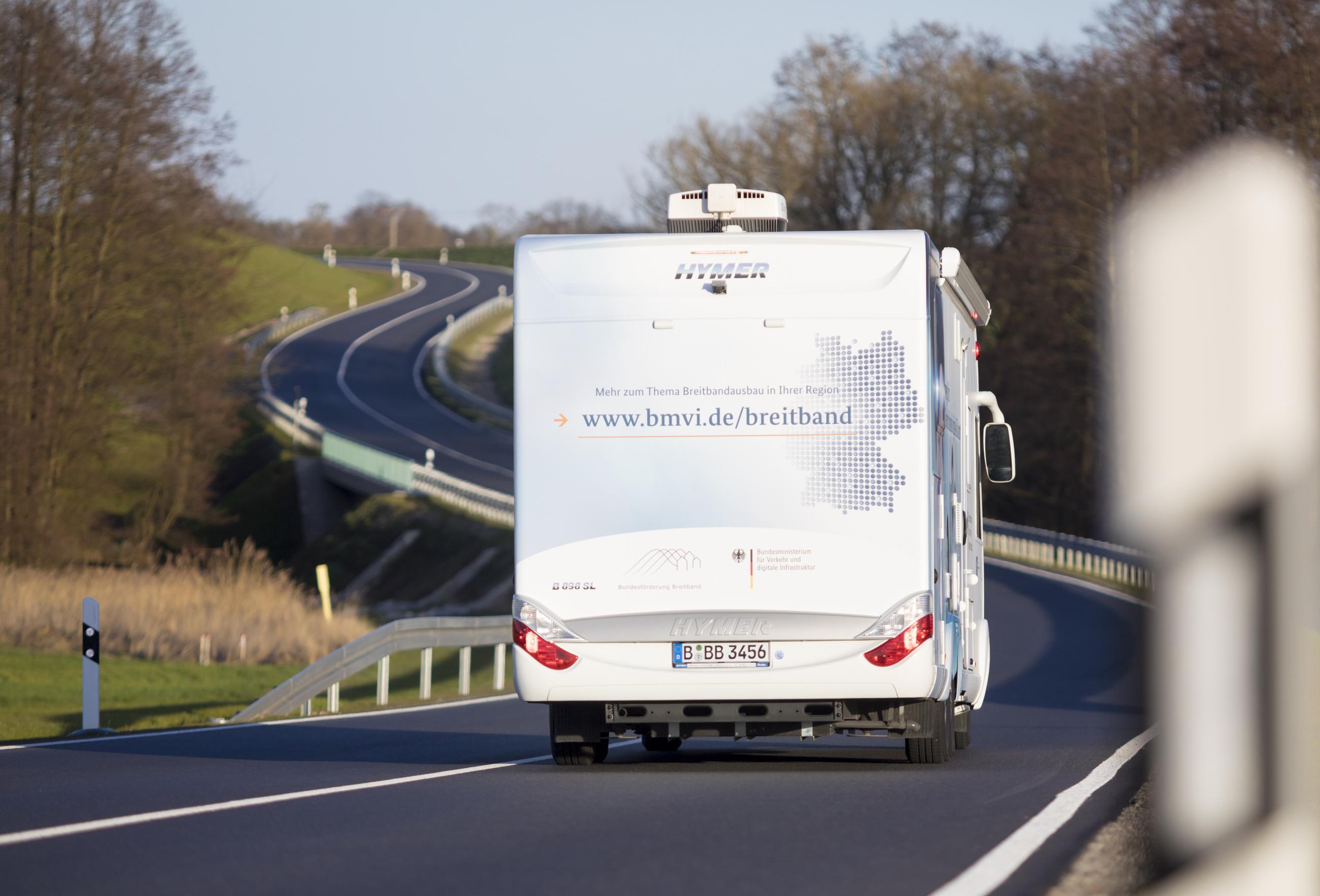 Unterwegs für Deutschlands digitale Zukunft in Neubrandenburg