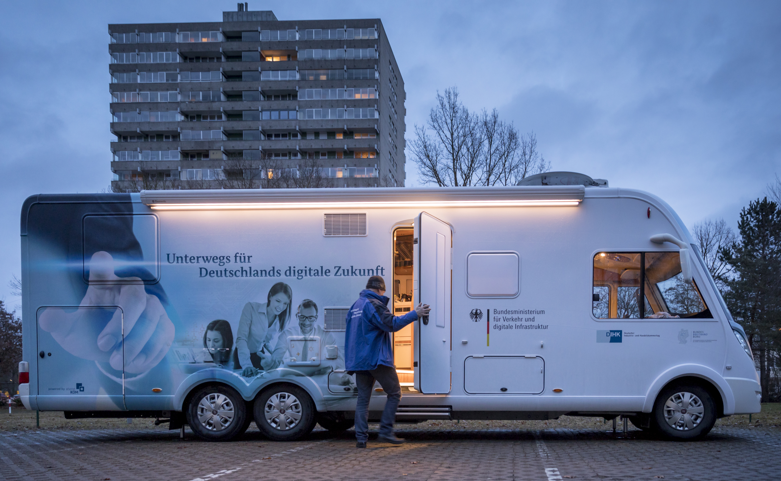 Unterwegs für Deutschlands digitale Zukunft in Augsburg