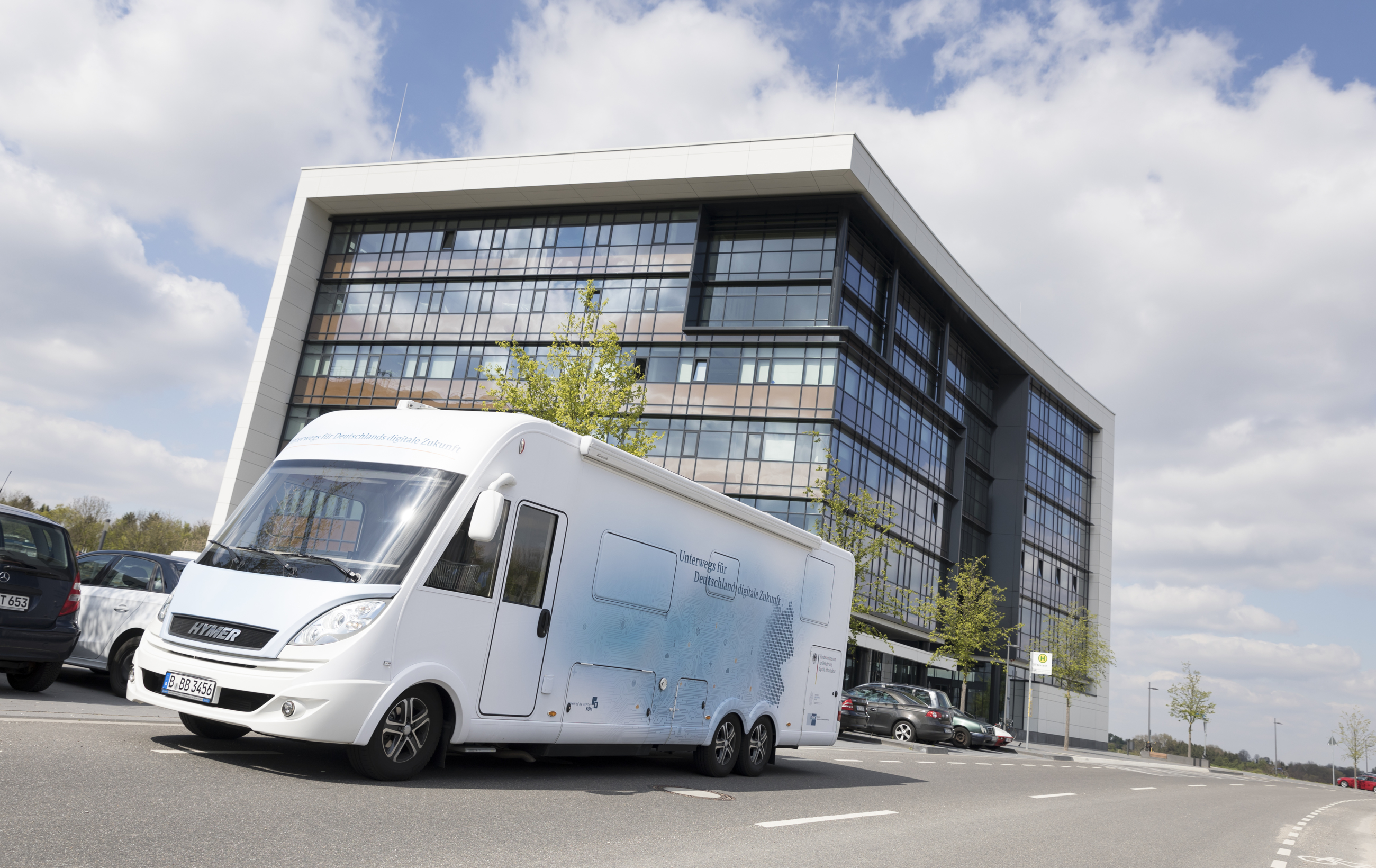 Unterwegs für Deutschlands digitale Zukunft in Aachen